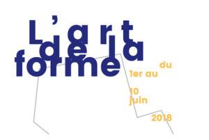 """Affiche : exposition """"L'art de la forme"""""""