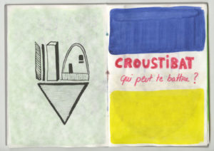 """Image : """"croustibat"""" par Cécile Lacouture"""