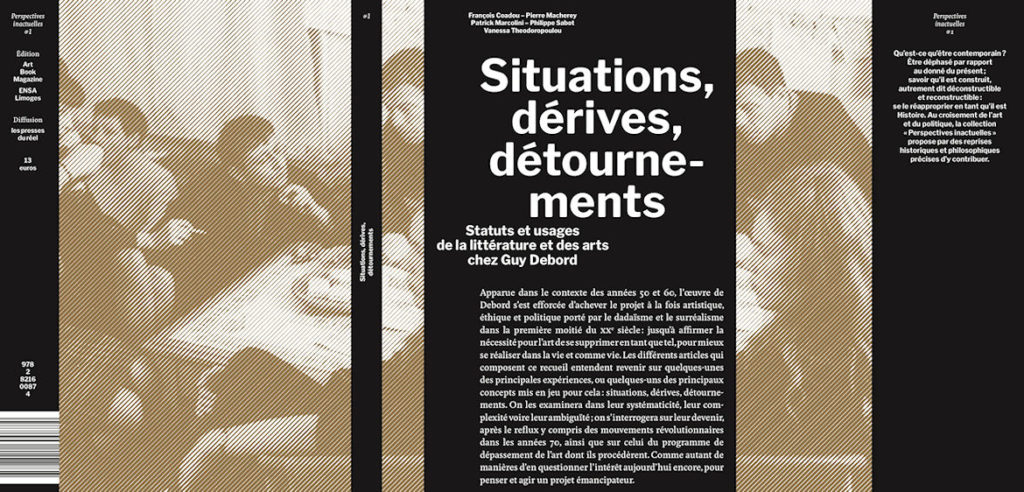 Image : page de couverture du livre : situations, dérives, détournements de François Coadou
