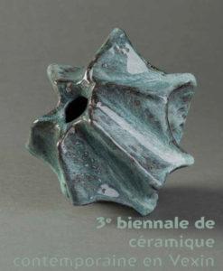 Affiche : 3ème biennale de céramique contemporaine en Vexin