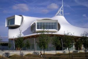 Photo : musée Pompidou de Shigeru Ban à Metz. Crédit photo : Gilles Ragot