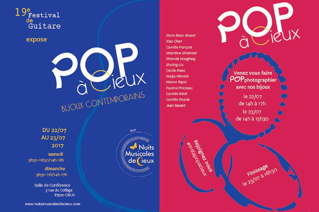 Affiche : POP à Cieux
