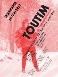 """Affiche de l'exposition """"TOUTIM"""""""