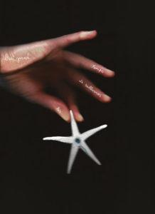 Photo : Il est grand temps d'allumer les étoiles, une oeuvre permanente de Delphine Gigoux-Martin et Jérôme Galvin, artistes associés