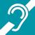 Pictogramme : Acceo, accessibilité téléphonique aux personnes sourdes et malentendantes