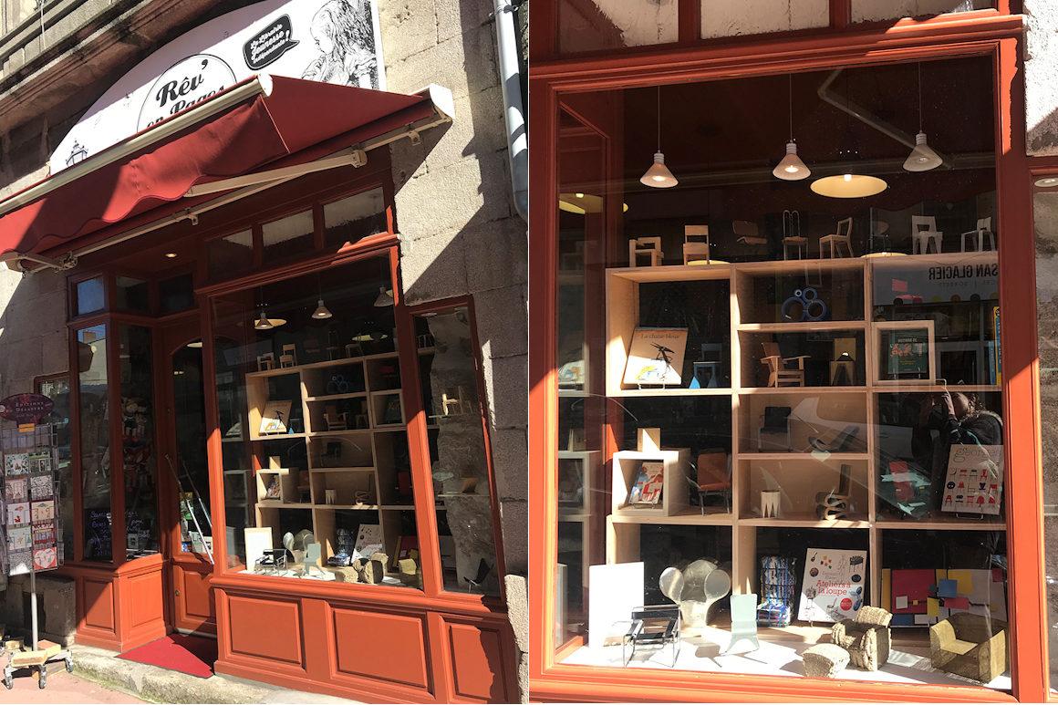 """Photos : exposition """"Permis de construire #1"""" à la Libraire Rêv'en pages à Limoges"""