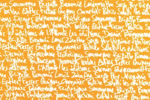 """Image : visuel du Festival """"Ecouter, voir"""""""