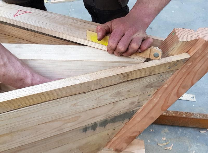 Photo : construction d'un bateau, Workshop design