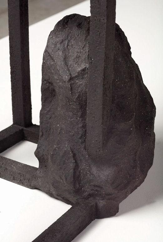 """photo : détail """"Grande archisteroid noire"""""""