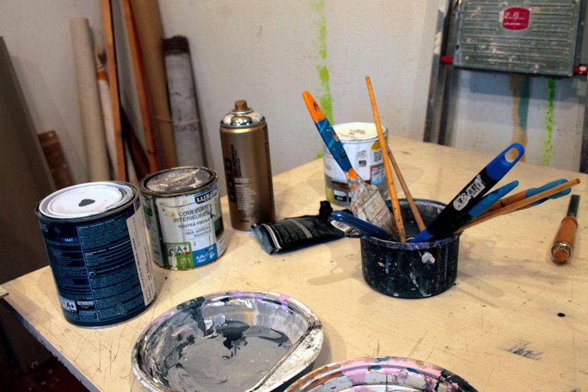 """Visuel : atelier """"peinture contemporaine"""""""