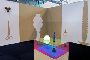 "Photo : installation ""mariage d'inclination"" de Jeanne Cardinal"