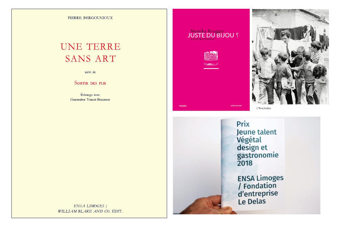 Image présentant les publications dont l'ENSA est partenaire
