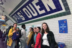 photo : étudiants en A3 design, participants à la journée d'étude : du corps à l'environnement