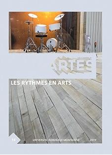 """page de couverture du livre universitaire """"les rythmes en arts"""""""