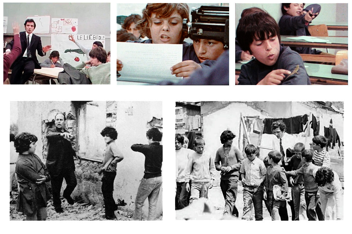 Image : photos extraites du film Journal d'un maître d'école. Le film, un livre Vittorio De Seta