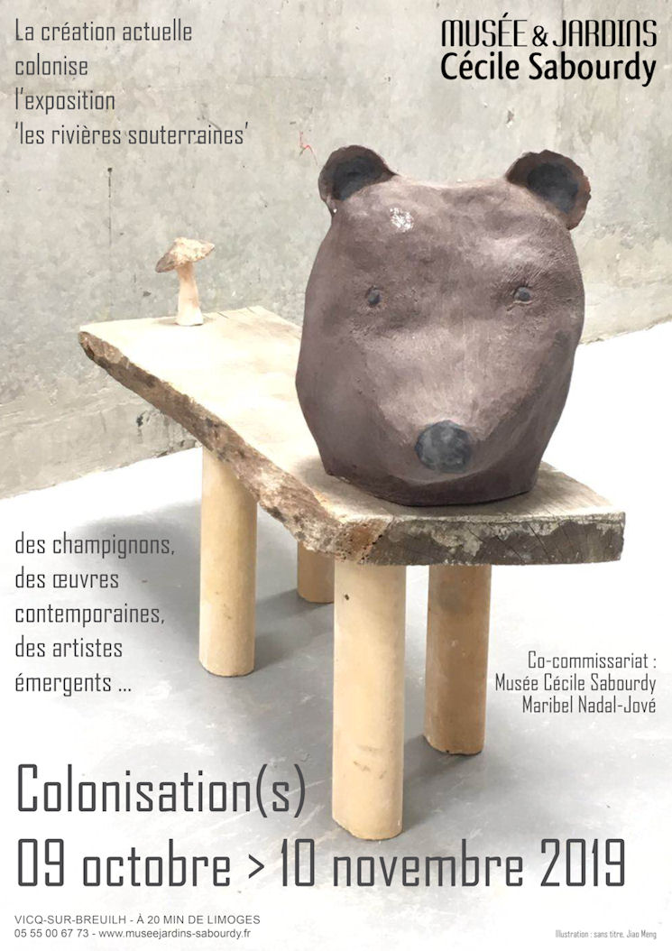 "Affiche : exposition ""Colonisation(s)"