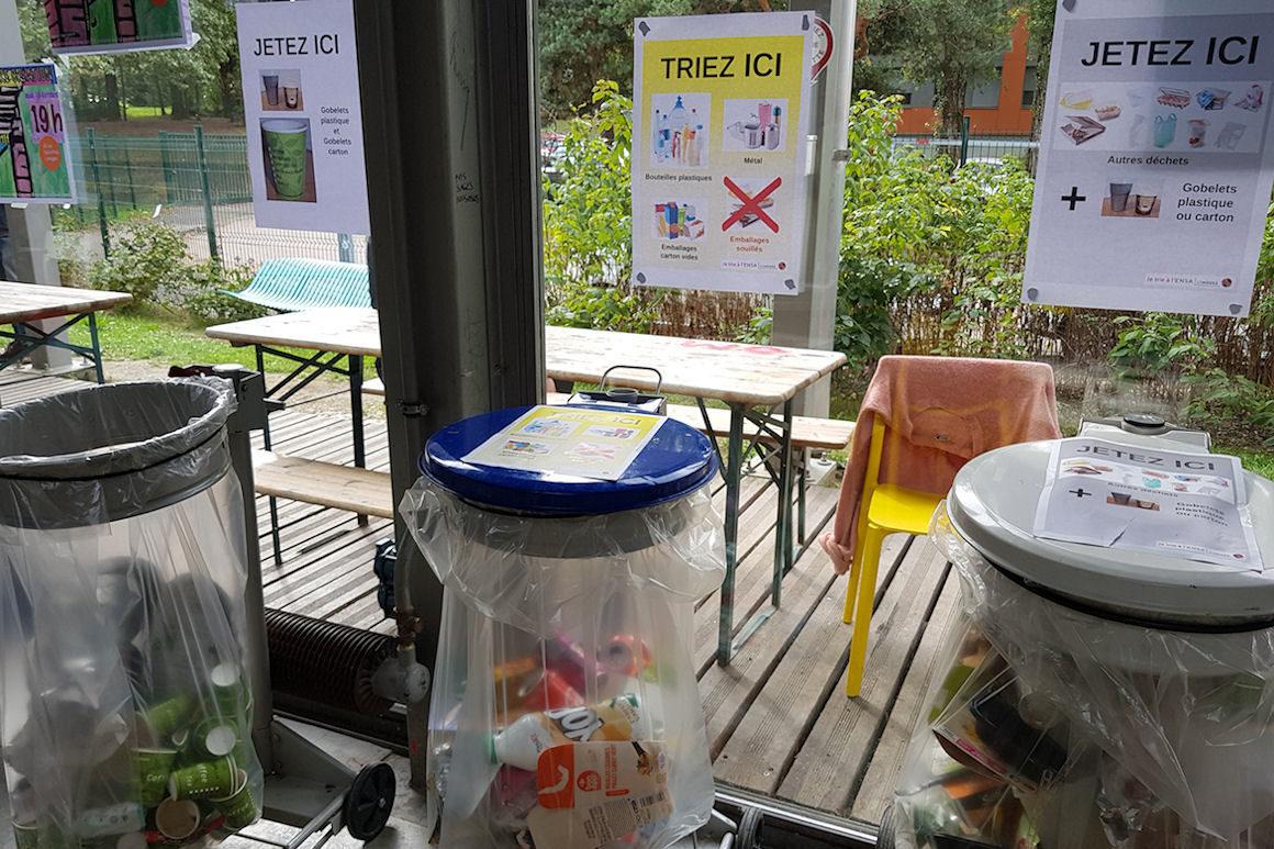 Photo : visuel pour la présentation des modalités du tri et du recyclage