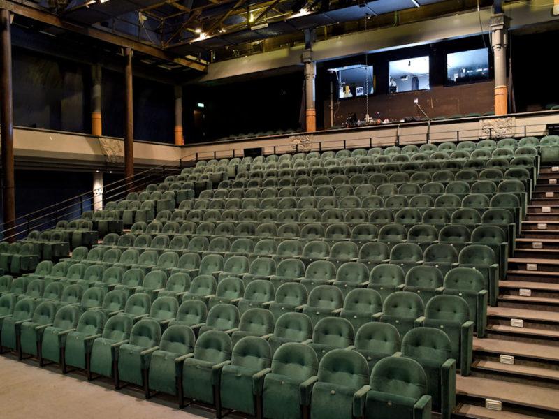 photo : salle du théâtre de l'Union ©Tristan Jeanne Valès