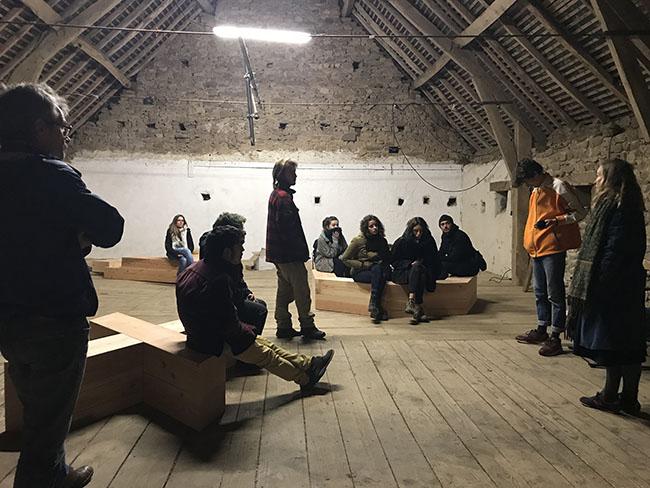 Photo : ARC Expérience du territoire - Rencontre à La Pommerie