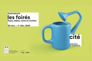 """Image : affiche """"Les Foirés"""" à la cité des sciences et de l'industrie"""