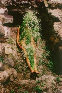 Photographie : Ana Mendieta, Sans Titre, Série Silueta, 1973-1977