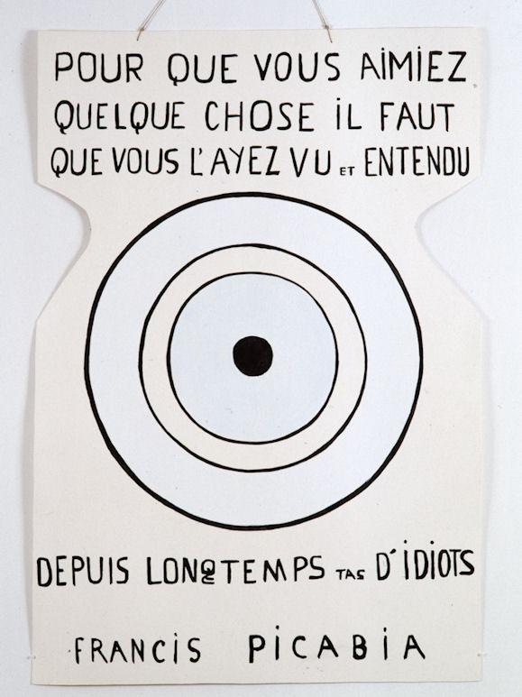 Image : Oeuvre de Francis Picabia, Ernest T., 1985