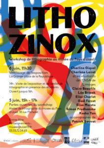 Affiche : exposition Lithozinox 2019