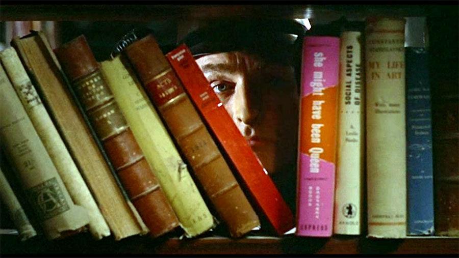 photo : Oskar Werner dans le film de François Truffaut, Fahrenheit 451, 1966