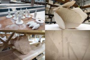 photos : post-diplôme kaolin, travaux réalisés de janvier à mars 2020