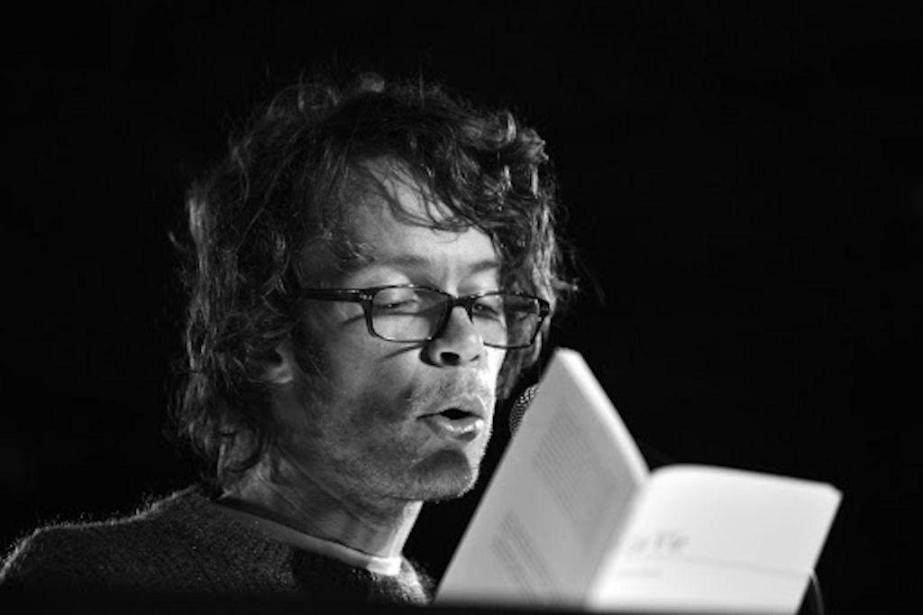 Photo portrait de Fabrice Caravaca - Maison de la poésie de Nantes