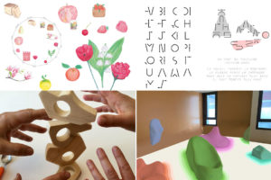 """Image : Travaux étudiants dans le cadre de """"design et santé"""""""