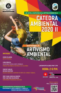"Affiche : colloque colloque ""Artivismo Ambiental"""