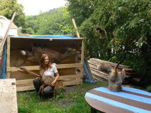 Photo : Delphine Gigoux-Martin, camping sauvage