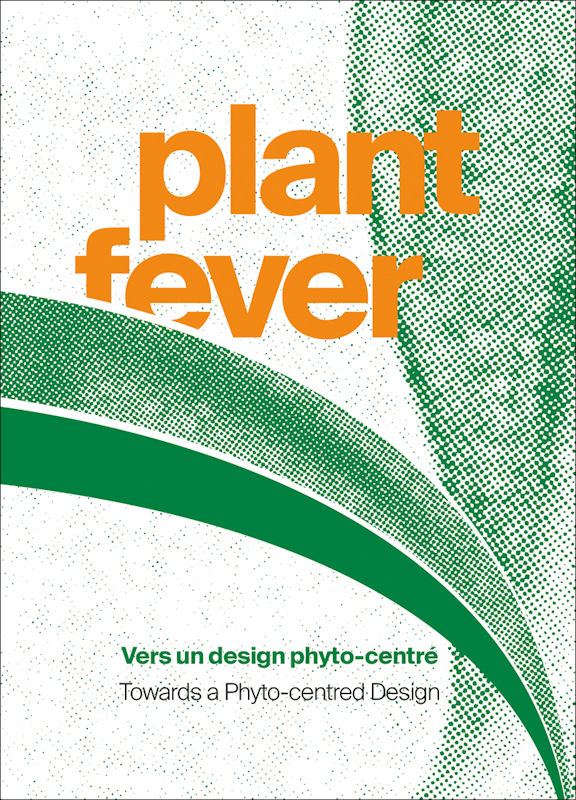 Photo : page de couverture du catalogue d'exposition Plant Fever