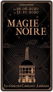 """Visuel de l'exposition """"Magie Noire"""""""