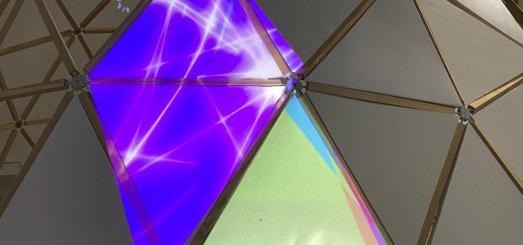 Photo : dôme géodésique