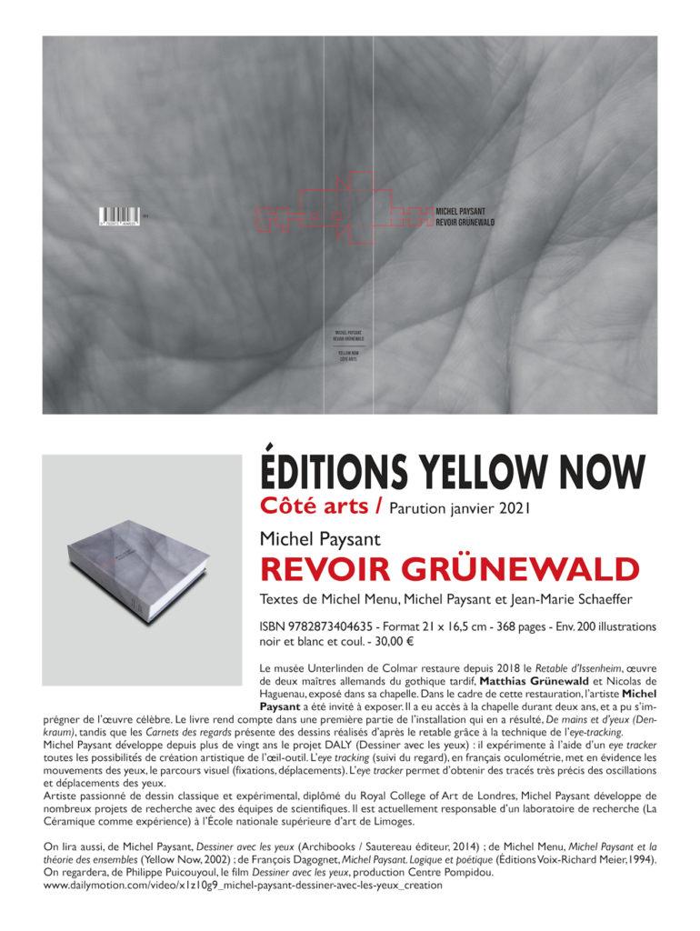 Présentation livre Michel Paysant Revoir Grünewald