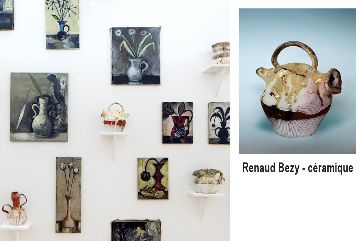Photos : installation, œuvres de Renaud Bézy