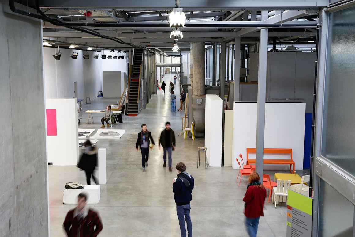 photo : vue intérieure de l'ENSA Limoges | crédit photo : Marie-Pierre Saunier