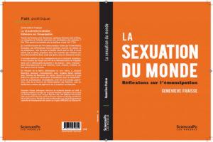 Photo : livre, la sexuation du monde - Geneviève Fraisse, conférence