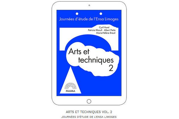 Image : visuel éditions numériques arts et techniques vol 2