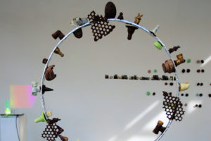 installation chocolat, charivari 2016