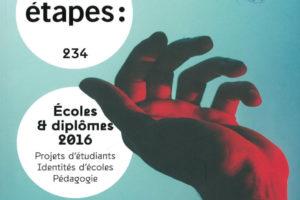 Vignette : Page de couverture de la revue Etapes :