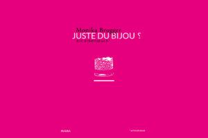 """Page de couverture de la publication """"Juste du bijou ?"""" de Monika Brugger"""
