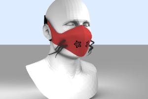 image : masque ludovic mallegol, logiciels 3D