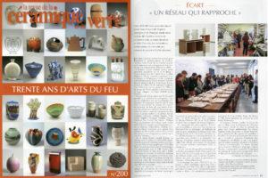 Visuel revue de la céramique, arc écart 2014/2015