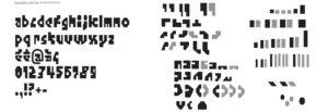 Image : typographie de Benoît Bodhuin