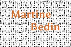 Image : visuel de la publication des échanges épistolaires avec Martine Bedin