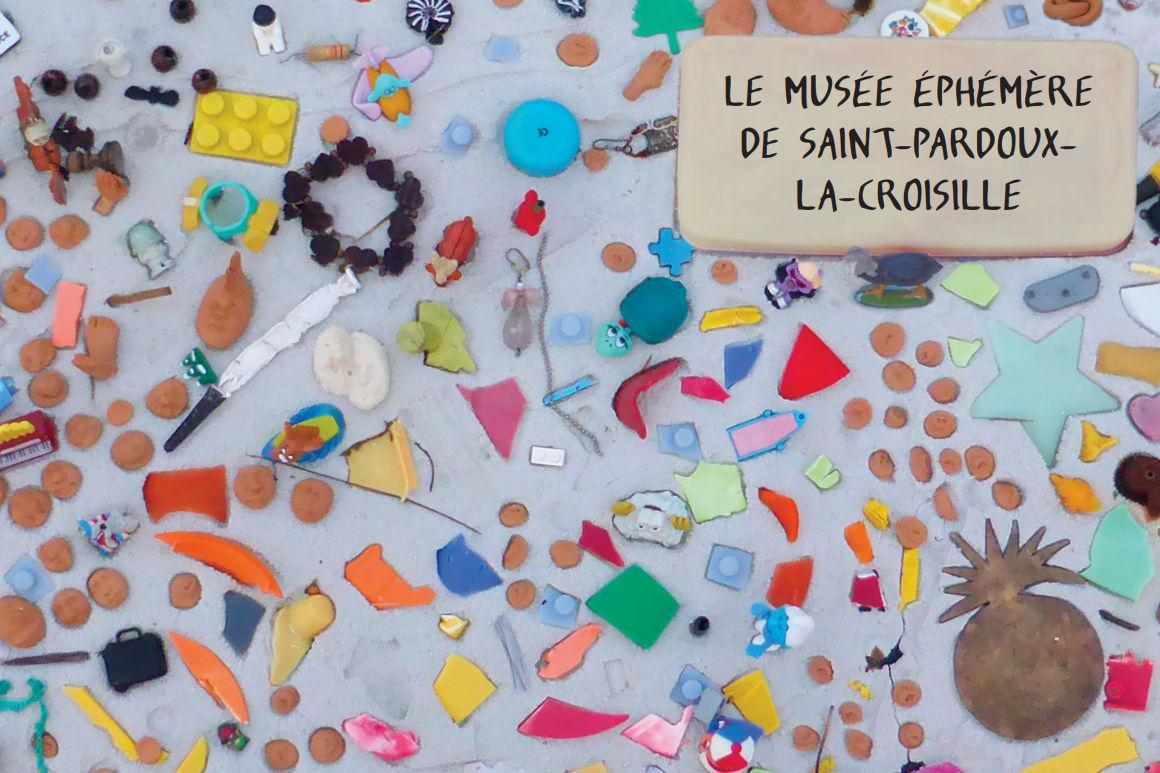 Image : page de garde catalogue d'exposition du musée éphémère de Saint-Pardoux-la-Croisille