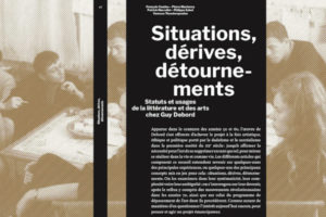 Image : page de couverture de la publication Situations, dérives et détournements